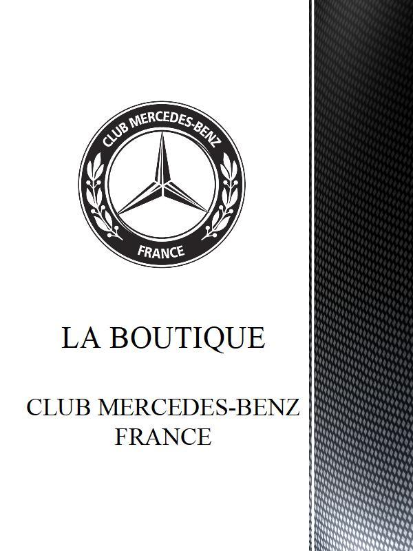 Catalogue de la Boutique du Club